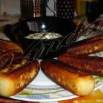Картофельные палочки — камыши:)