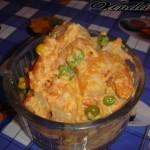 Тигровые креветки с брюсельской морковкой в сливочном соусе :)