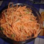Морковный острый салатик:)